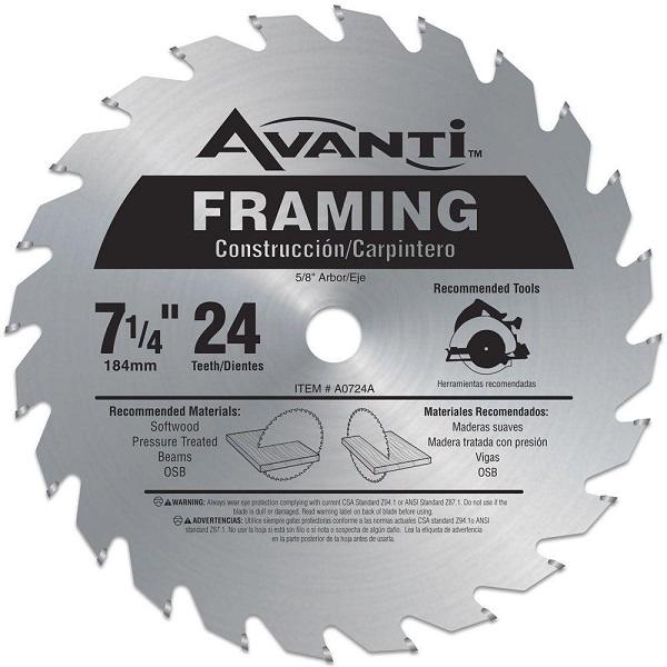 Framing Circular Saw Blade Giveaway
