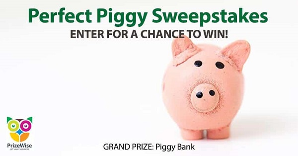 Perfect Piggy Bank Giveaway