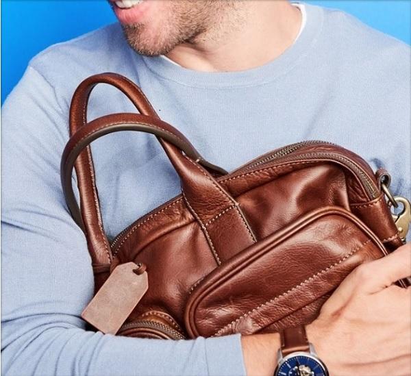 Fossil Defender Double Zip Work Bag Giveaway