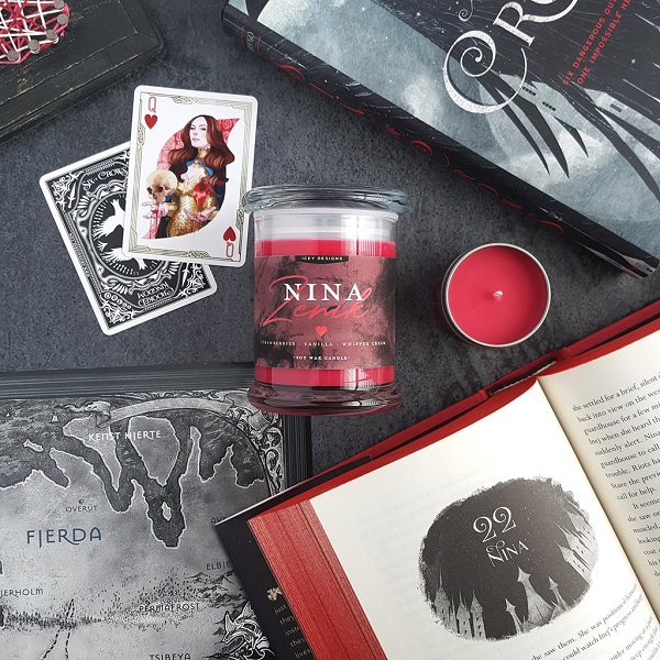 Full Set Of Six Of Crows Character Candles Sweepstakes