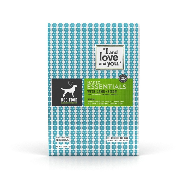 Free Sample Of I And You Naked Essentials Dog Food