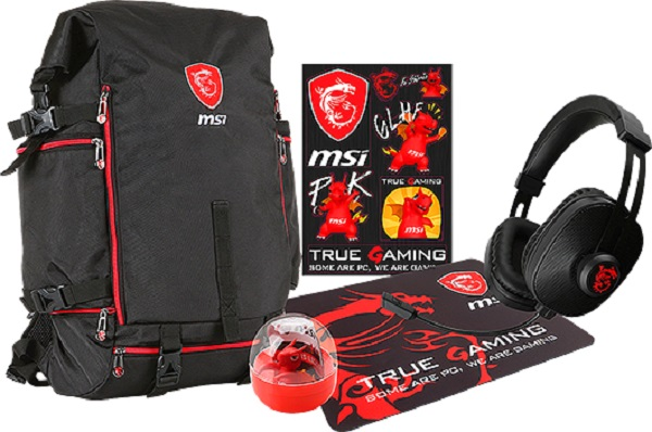 MSI Gaming Laptop And Bundle Sweepstakes