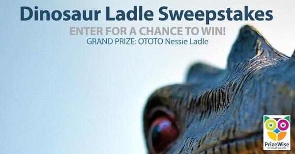 Dinosaur Ladle Sweepstakes