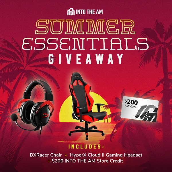 DX Racing Gaming Chair Giveaway