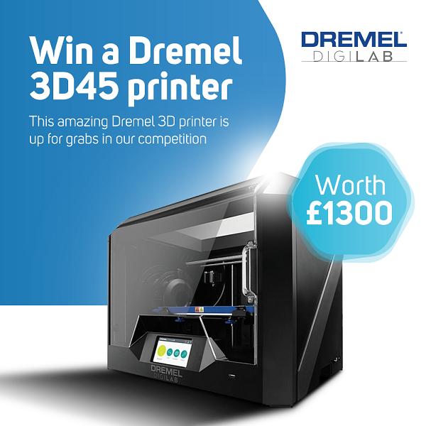 Dremel DIgiLab 3D Printer Giveaway