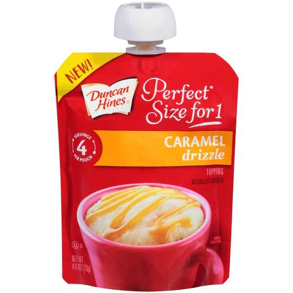 Free Duncan Hines Perfect Size For 1 Frosting Or Drizzle