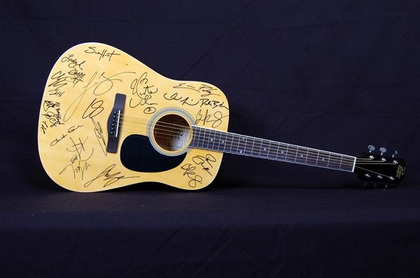 Lee Brice Signed Guitar Sweepstakes
