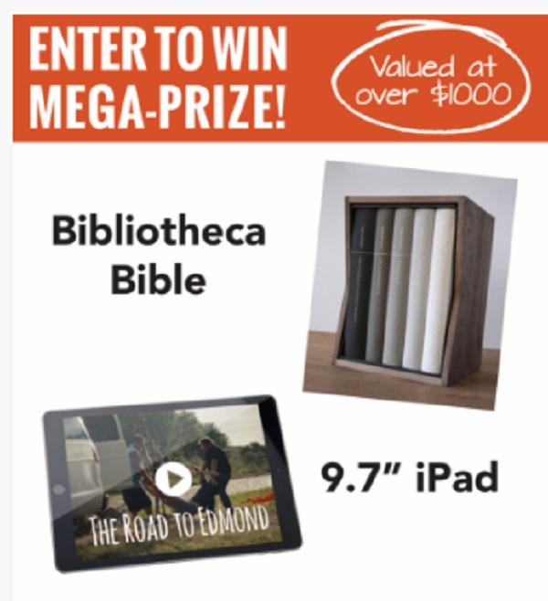 Bibliotecha Bible And iPad Giveaway
