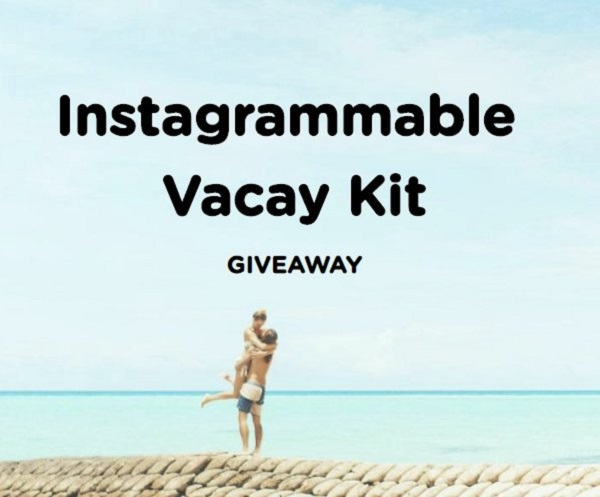 Instagrammable Vacay Kit Sweepstakes