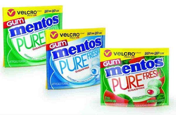 Free Mentos Gum Velcro Wallet Pack For Kroger & Affiliates