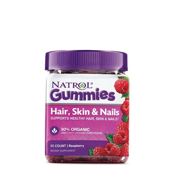 Free Bottle Of Natrol Gummies Hair Skin & Nails
