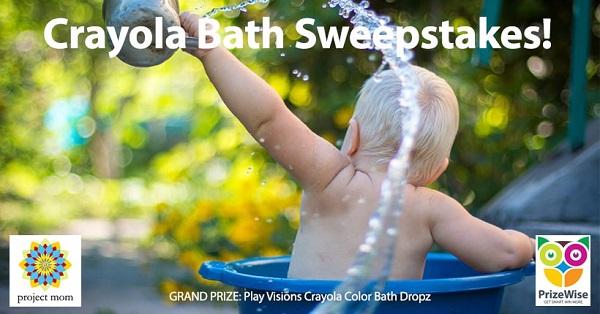 Crayola Bath Giveaway