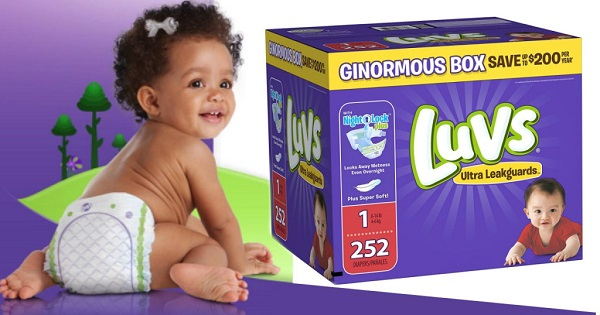 Luvs Diapers for a Year Giveaway