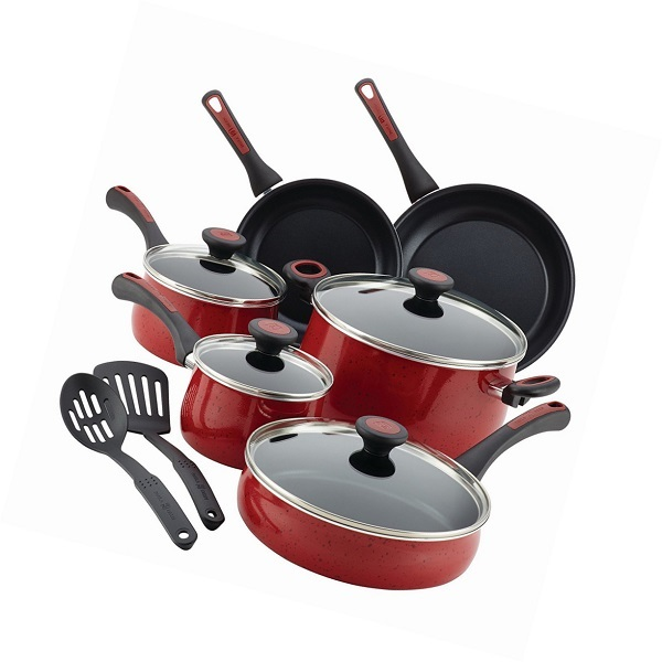 Paula Deen Riverbend Speckled Porcelain Enamel Cookware Set Sweepstakes