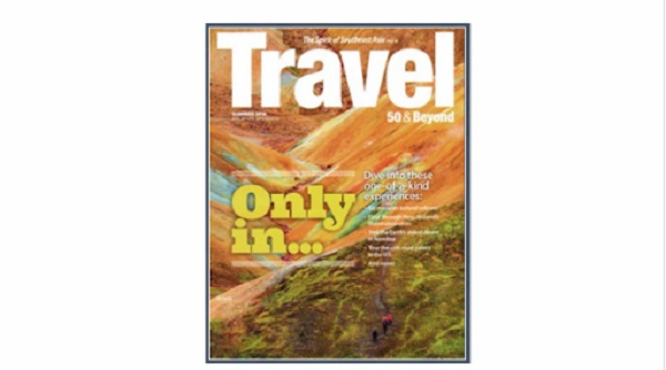 Free 1-Year Subscription To Travel 50 & Beyond Magazine