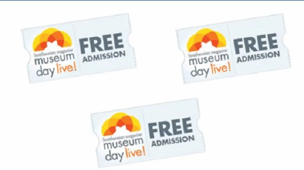 Free 2 x Museum Day Live Tickets