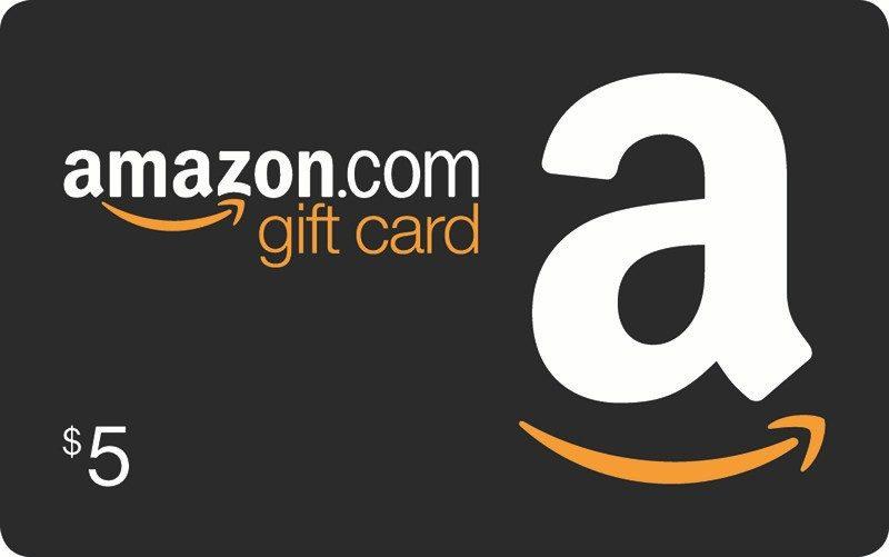 Free $5 Amazon eGift Card!