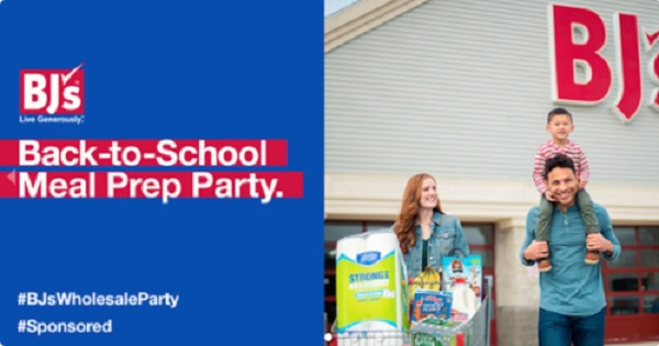 Free BJ's  Back-to-School Meal Prep Party