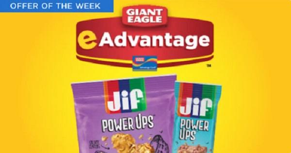Free Jif Power Up Bars