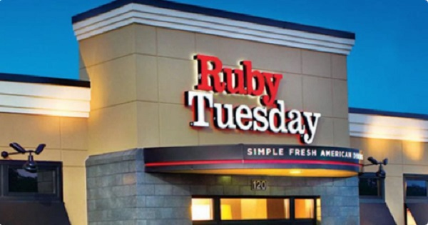 Free Meal At Ruby Tuesday