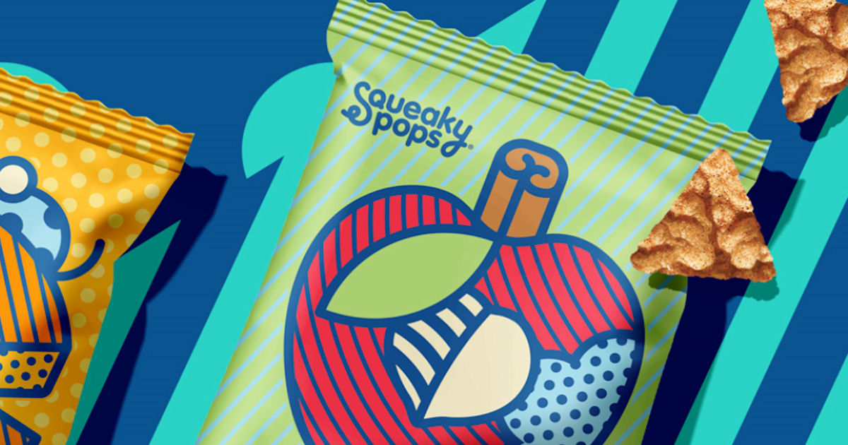 Free Squeaky Pops Popped Chickpea Snacks
