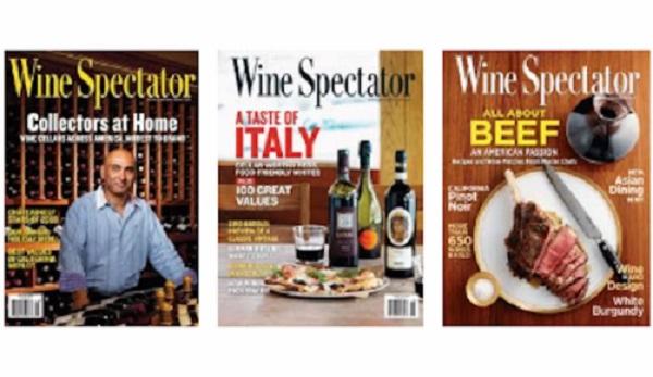 Free Wine Spectator Subscription
