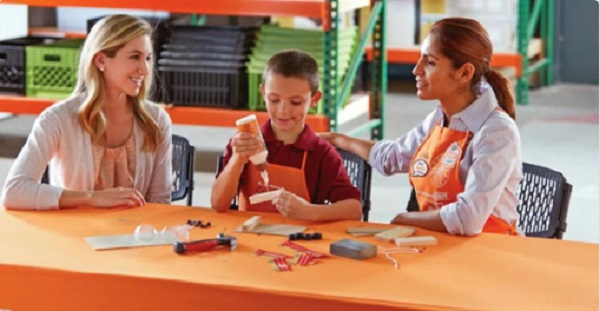 Free Workshops At Home Depot For August