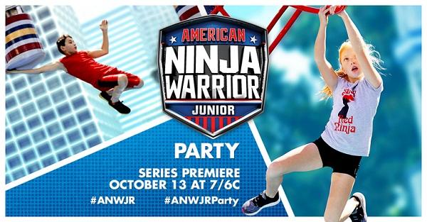 Free American Ninja Warrior Junior Party