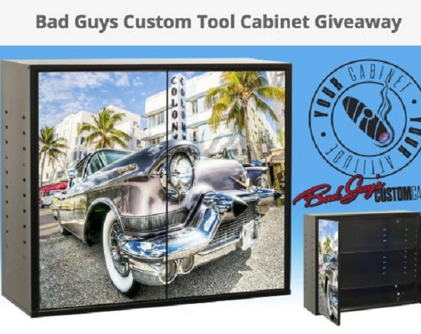 Tool Cabinet Giveaway
