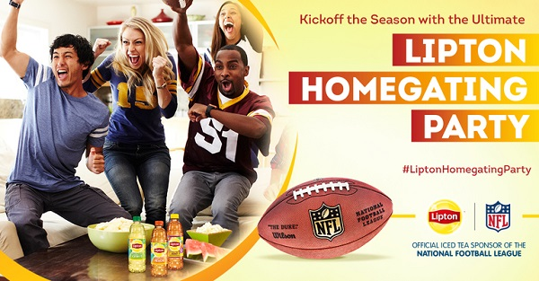 Free Lipton Homegating Party With Walmart