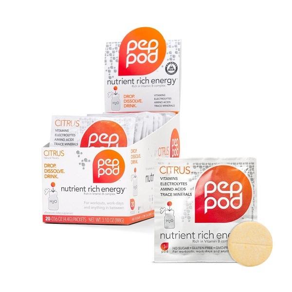 Free Sample Of PepPod Energy Drink Tablet