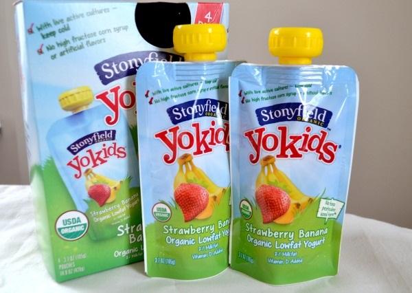 Free Stonyfield Organic Yogurt Kids Pouch