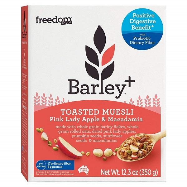 Free Freedom Foods Barley + Toasted Muesli