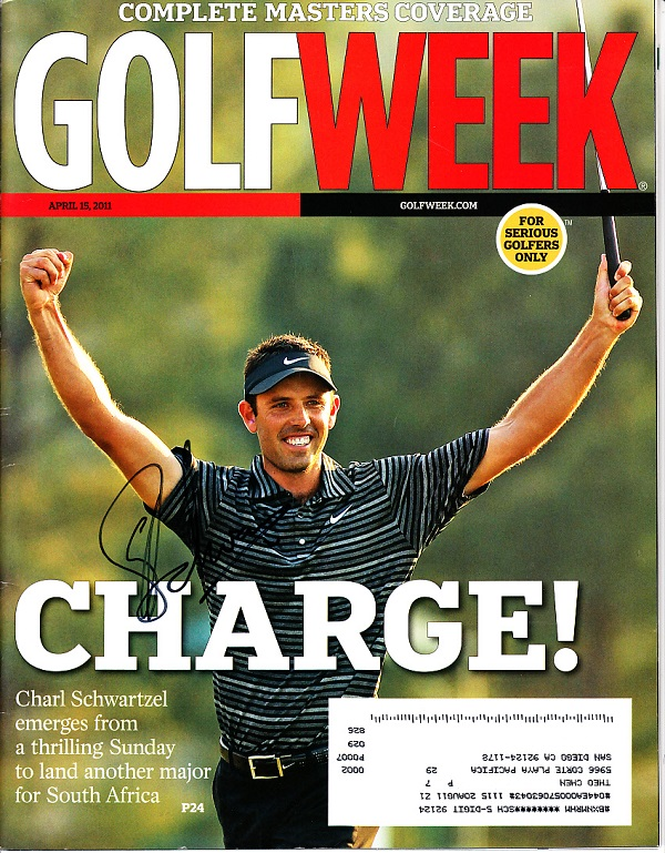 Complimentary Subscription To GolfWeek Magazine