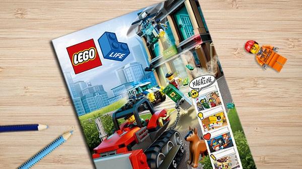 Free Subscription to LEGO Life Magazine