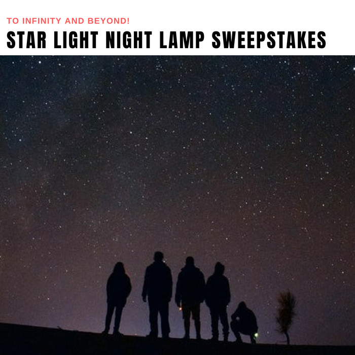 Star Light Lamp Sweepstakes