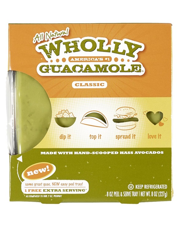 Free Wholly Guacamole Product Coupon on 9/16