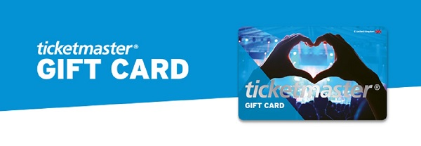 Ticketmaster Gift Cards Worth $3,000 Giveaway