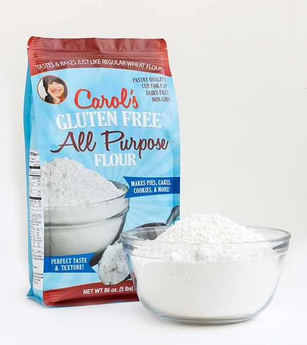 Cookbook + 5 pounds Carol's All Purpose Flour Giveaway