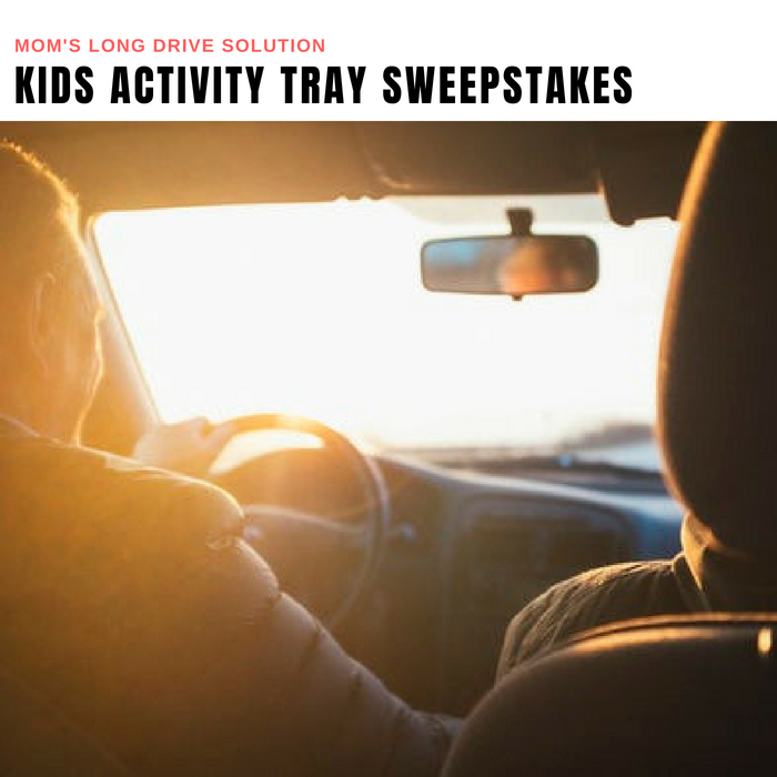 Car Seat Activity Tray Sweepstakes