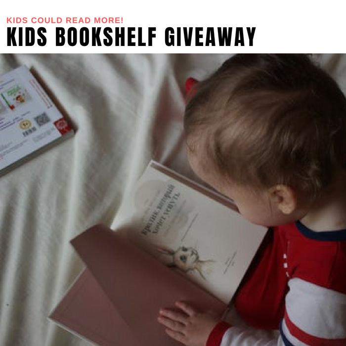 Kids Bookshelf Giveaway
