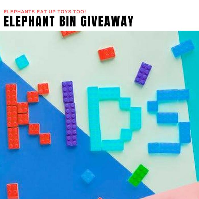 Elephant Bin Giveaway