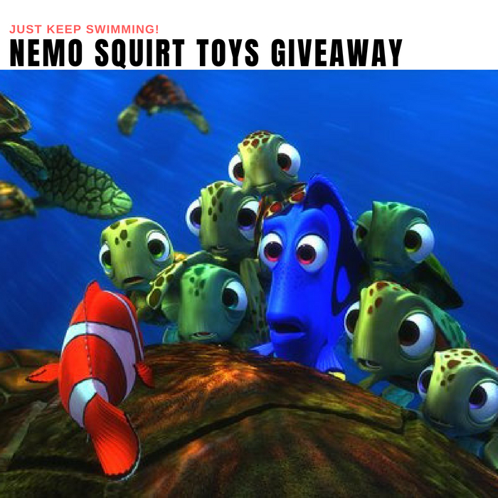 Nemo Squirt Toys Giveaway