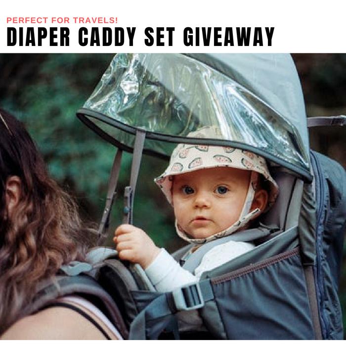 Diaper Caddy Set Giveaway