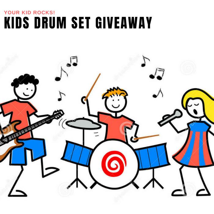 Kids Drum Set Giveaway