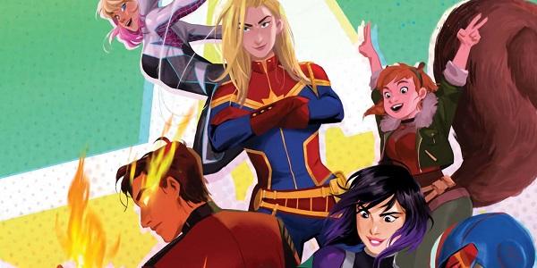 Free Marvel Rising: Secret Warriors Chat Pack