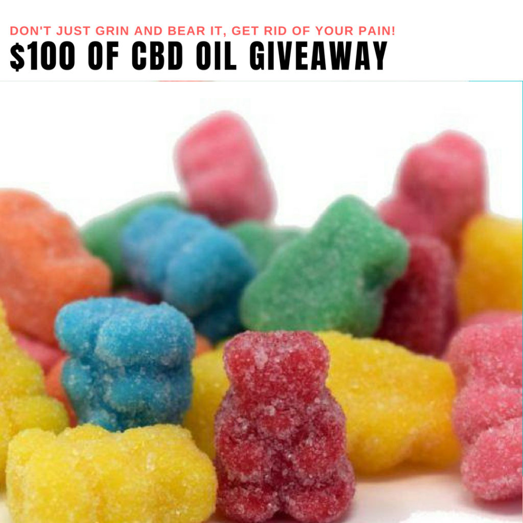 $100 Of CBD Oil Giveaway