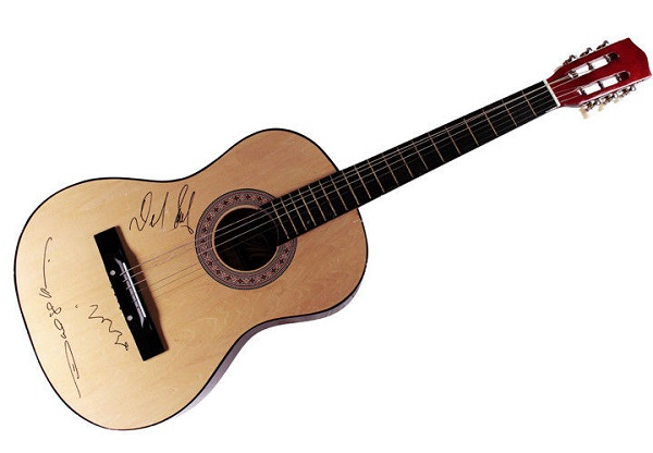 Epiphone Acoustic Guitar Autographed by Michael Ray Sweepstakes