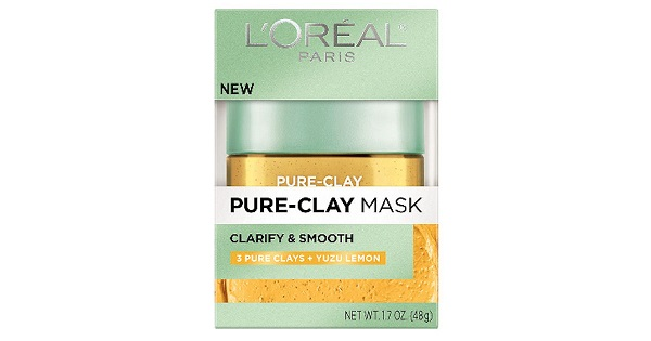 Free Samples of L'Oreal Pure-Clay Yuzu Mask