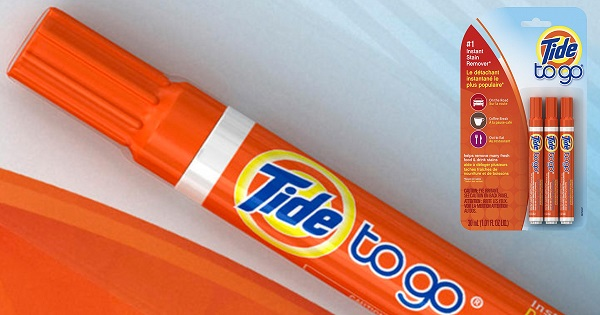 Free Tide To Go Stain Remover Pen